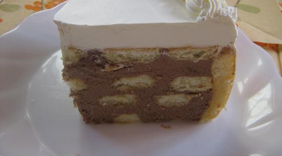 Recepti - Čokoladna krem torta sa piškotama