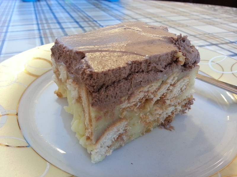 Recepti - Vanila keks kolac