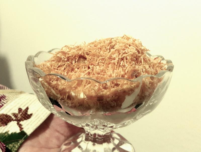 Recepti - Muhallebi kadaif