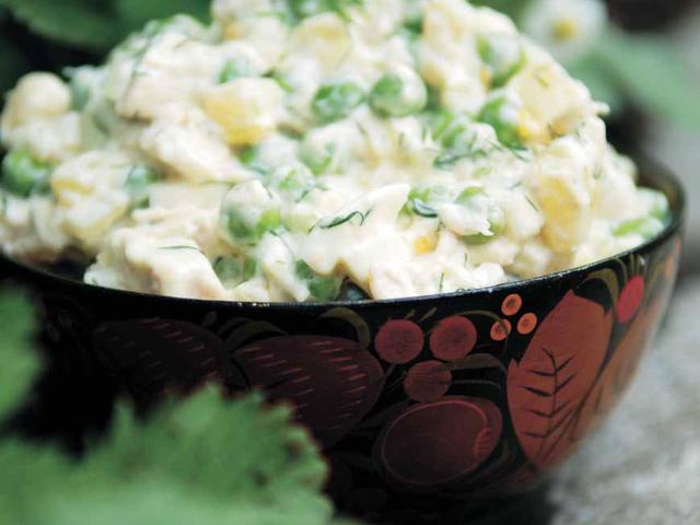 Recepti - Salata od graska