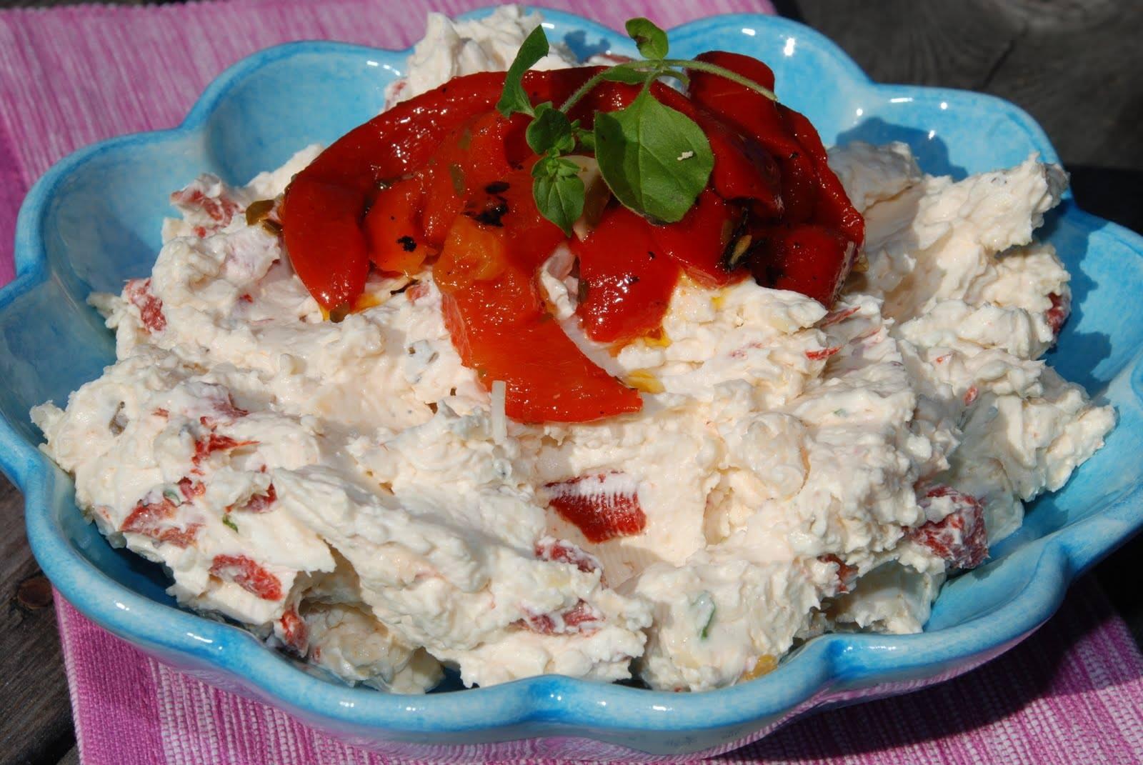 Recepti - Salata sa pecenim paprikama